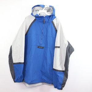 Vtg 90s Columbia Mens 2XL Packable Anorak Jacket